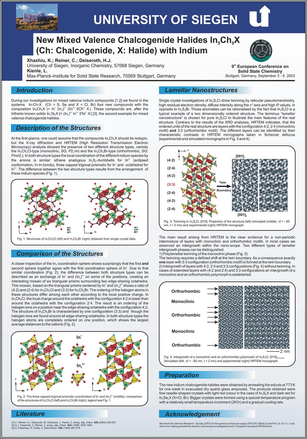 forschung | Anorganische Chemie