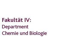 Department Chemie und Biologie